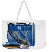 Wire Box Weekender Tote Bag