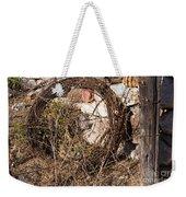 Wire Roll Weekender Tote Bag