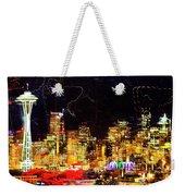 Wired Seattle Weekender Tote Bag