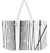 Wires Abstract Weekender Tote Bag
