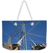 Wires Weekender Tote Bag