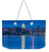 Wisconsin Capitol Reflection Weekender Tote Bag