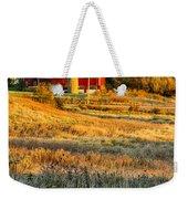 Wisconsin - Country Morning Weekender Tote Bag