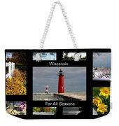 Wisconsin For All Seasons Weekender Tote Bag