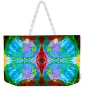 Wisdome And Mystery Abstract Pattern Artwork By Omaste Witkowski Weekender Tote Bag