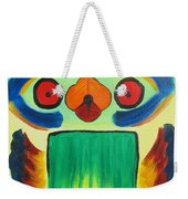 Wise Bird Totem Weekender Tote Bag