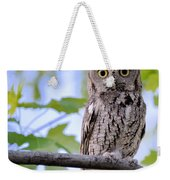 Wise Old Owl Weekender Tote Bag