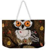 Wise Owl Weekender Tote Bag