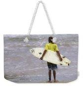 Wishin Waves Weekender Tote Bag
