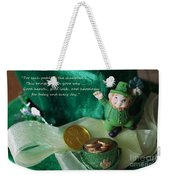 Wishing You A Happy St. Patricks Day Weekender Tote Bag