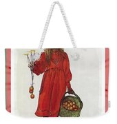 Wishing You Health Wealth And Happiness Greeting Card Weekender Tote Bag