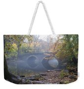 Wissahickon Creek And Bells Mill Road Bridge Weekender Tote Bag