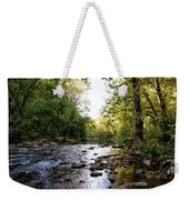 Wissahickon Creek Near Bells Mill Weekender Tote Bag