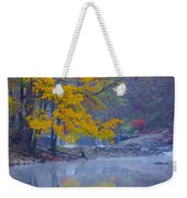 Wissahickon Morning In Autumn Weekender Tote Bag