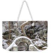 Wissahickon Steps In The Snow Weekender Tote Bag
