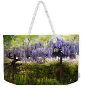 Wisteria Trellis Weekender Tote Bag by Jessica Jenney