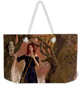 Witch Of The Autumn Forest  Weekender Tote Bag by Daniel Eskridge