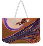 Witches' Branch Purple Weekender Tote Bag
