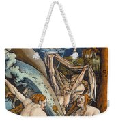 Witches Weekender Tote Bag by Hans Baldung Grien