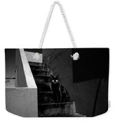 Witch's Cat In Moonlight... Weekender Tote Bag