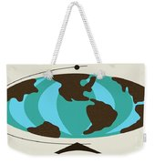 Witco World Map Weekender Tote Bag
