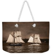 With Full Sails Weekender Tote Bag
