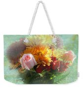 With Love Flower Bouquet Weekender Tote Bag
