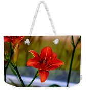 With Open Arms Weekender Tote Bag