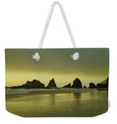 With The Ease Of A Sun Ray Weekender Tote Bag