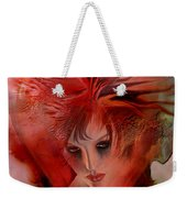 Within A Glass Heart Weekender Tote Bag