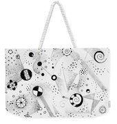 Without Gravity Weekender Tote Bag