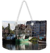 Wladyslawowo And Gdynia In Gdansk Harbor Weekender Tote Bag