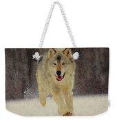 Wolf 1 Weekender Tote Bag