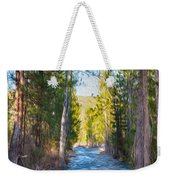 Wolf Creek Flowing Downstream  Weekender Tote Bag