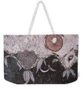 The Wolf Is Watching Weekender Tote Bag