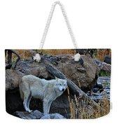 Wolf In The Wild Weekender Tote Bag