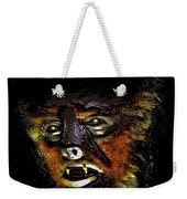 Wolf Man Original Work One Weekender Tote Bag