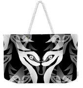Wolf Mask Weekender Tote Bag
