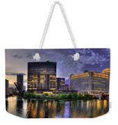 Wolf Point Panorama Weekender Tote Bag