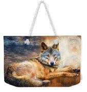 Wolf - Spirit Of Truth Weekender Tote Bag