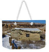 Wolfe Ranch Cabin Arches National Park Utah Weekender Tote Bag