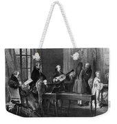 Wolfgang Amadeus Mozart (1756-1791) Weekender Tote Bag