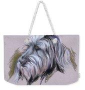 Wolfhound Portrait Weekender Tote Bag
