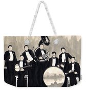 Wolverines B And W Weekender Tote Bag