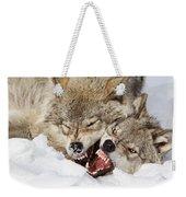 Wolves Rules Weekender Tote Bag