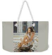 Woman Bathing 2013 Weekender Tote Bag