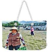 Woman In China Weekender Tote Bag