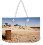 Woman In Landscape Weekender Tote Bag