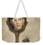 Woman In Mirror Weekender Tote Bag