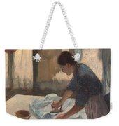 Woman Ironing Weekender Tote Bag